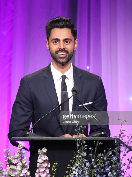 Hasan Minhaj attends Friends Of The Saban Community Clinic's 42nd Annual Gala at The Beverly Hilton Hotel on November 12, 2018 in Beverly Hills,...