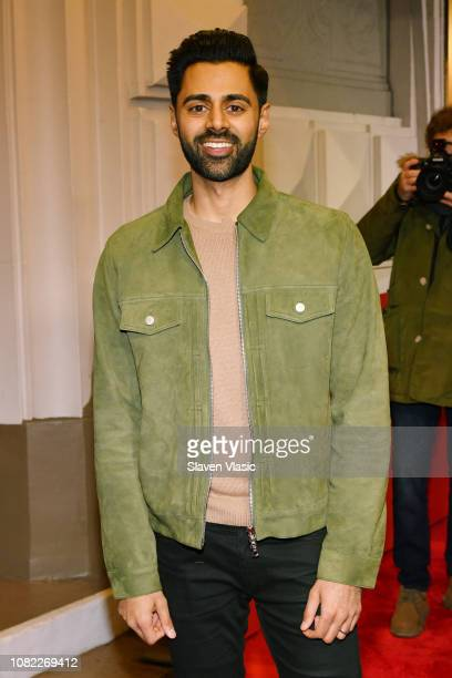 """Hasan Minhaj attends opening night of """"To Kill A Mocking Bird"""" at the Shubert Theatre on December 13, 2018 in New York City."""