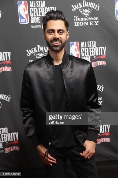 Hasan Minhaj attends the 2019 NBA All-Star Celebrity Game at Bojangles Coliseum on February 15, 2019 in Charlotte, North Carolina.