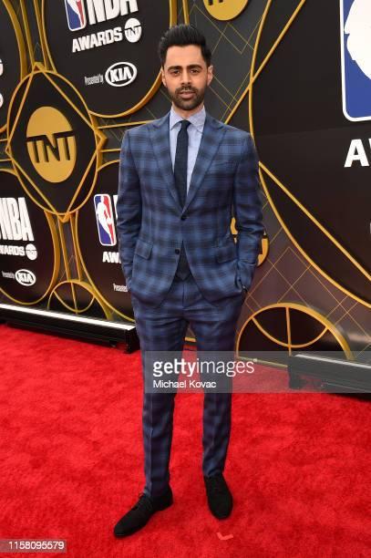 Hasan Minhaj attends the 2019 NBA Awards presented by Kia on TNT at Barker Hangar on June 24, 2019 in Santa Monica, California.