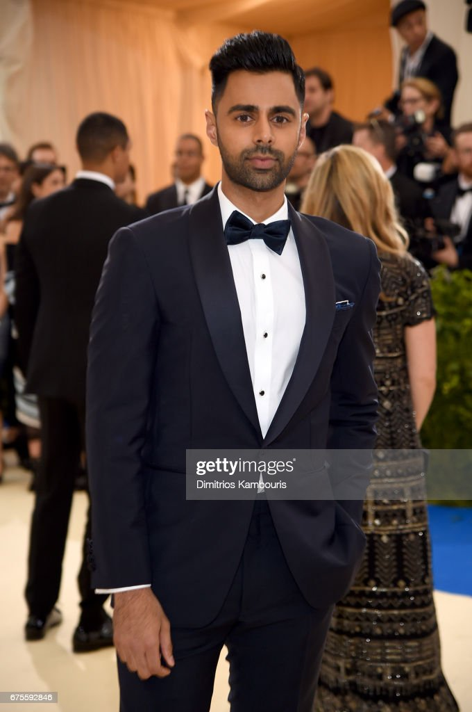 Hasan Minhaj attends the 'Rei Kawakubo/Comme des Garcons: Art Of The In-Between' Costume Institute Gala at Metropolitan Museum of Art on May 1, 2017 in New York City.