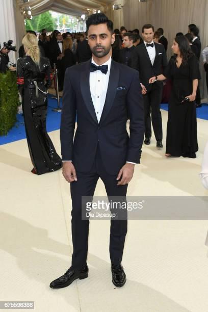 "Hasan Minhaj attends the ""Rei Kawakubo/Comme des Garcons: Art Of The In-Between"" Costume Institute Gala at Metropolitan Museum of Art on May 1, 2017..."