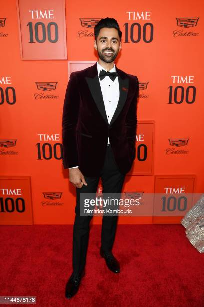 Hasan Minhaj attends the TIME 100 Gala Red Carpet at Jazz at Lincoln Center on April 23, 2019 in New York City.