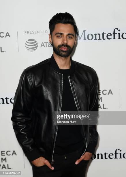Hasan Minhaj attends the Tribeca Talks - Storytellers with Rashida Jones at the 2019 Tribeca Film Festival at BMCC Tribeca PAC on May 01, 2019 in New...