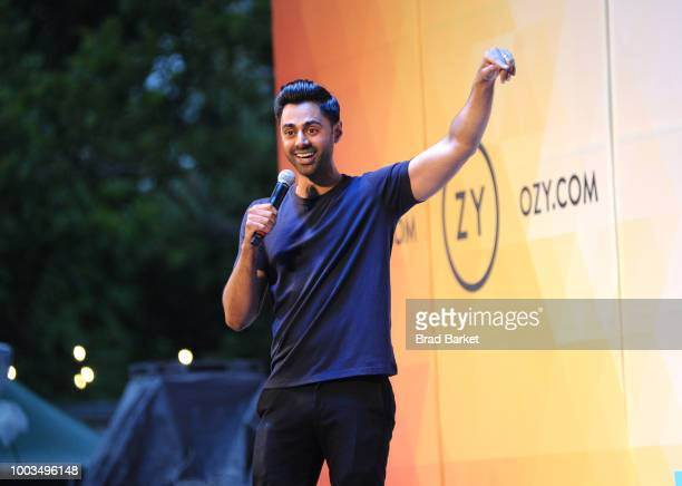 Hasan Minhaj performs onstage during OZY FEST 2018 at Rumsey Playfield, Central Park on July 21, 2018 in New York City.