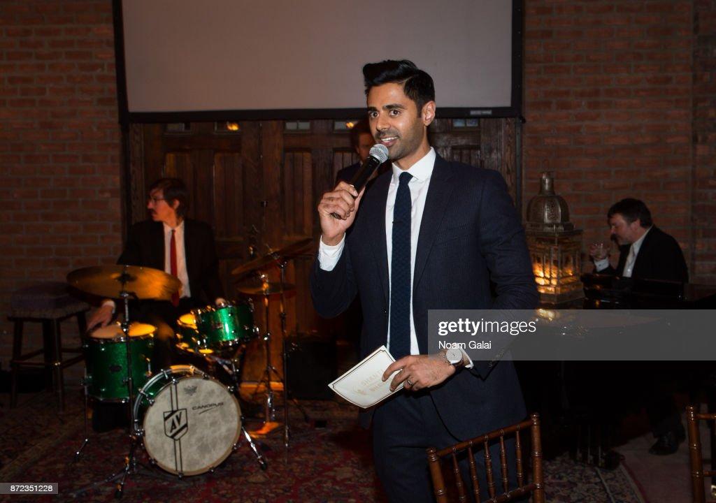Hasan Minhaj speaks at Shanti Bhavan's 20 Anniversary Gala on November 9, 2017 in New York City.