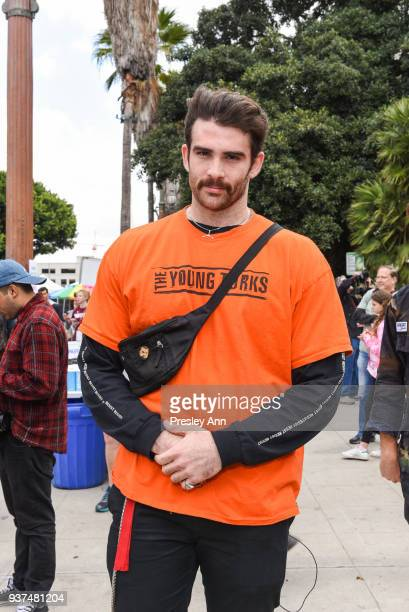 Hasan Piker attends March For Our Lives Los Angeles on March 24, 2018 in Los Angeles, California.
