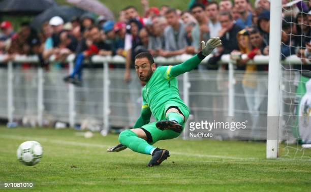 Hasan Piro of Northern Cyprus during Conifa Paddy Power World Football Cup 2018 Grand Final between Northern Cyprus against Karpatalya at Queen...