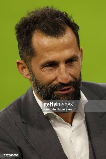 Hasan Salihamidzic manager of FC Bayern Muenchen looks on after the Supercup 2020 match between FC Bayern München and Borussia Dortmund at Allianz...