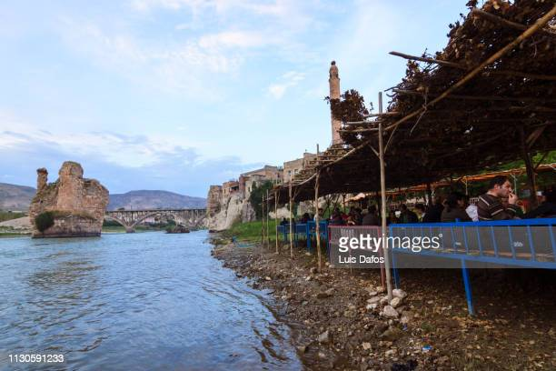 hasankeyf, tigris river - dafos stock photos and pictures