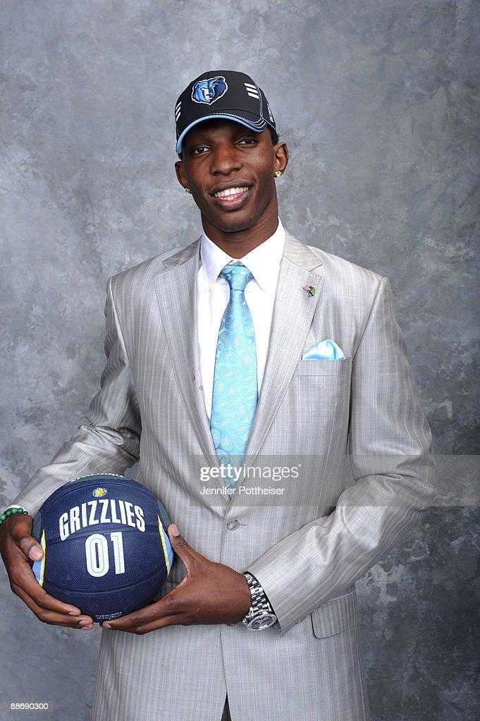 2009 NBA Draft Portraits : News Photo