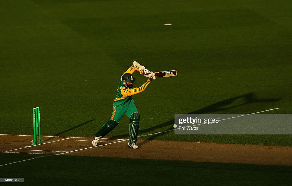New Zealand v South Africa - 3rd One Day International
