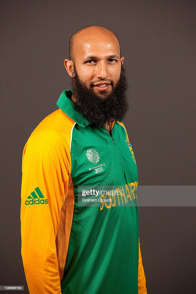 Hashim Amla of South Africa poses during a portrait session ahead of the 2011 ICC World Cup at the Sheraton Hotel and Towers on February 11, 2011 in Chennai, India.