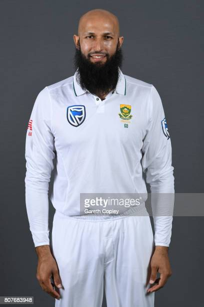 Hashim Amla of South Africa poses for a portrait at Lord's Cricket Ground on July 4 2017 in London England