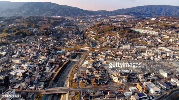 hashimoto city2 - präfektur wakayama stock-fotos und bilder