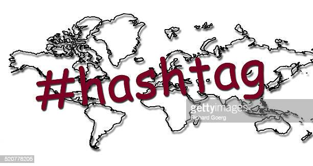 Hashtag and the world