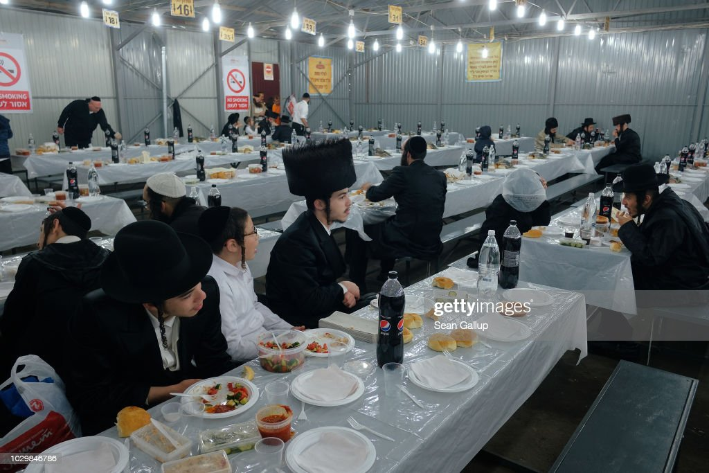 Jews Gather In Uman For Rosh Hashanah : News Photo