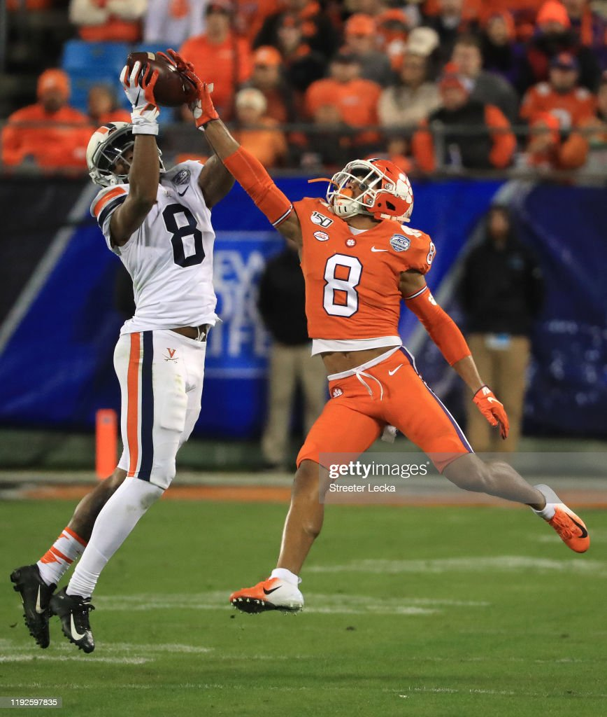 ACC Football Championship - Clemson v Virginia : News Photo