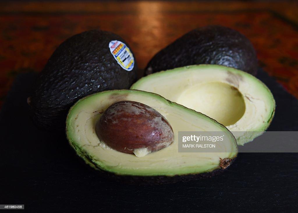 US-LIFESTYLE-FOOD-AVOCADO : News Photo
