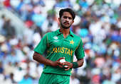 hassan ali pakistanduring icc champions trophy