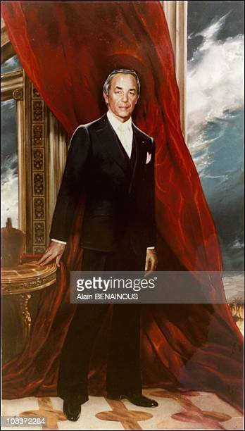 Hassan II is the king of Morocco in Palm Beach, United States on March 01, 2003