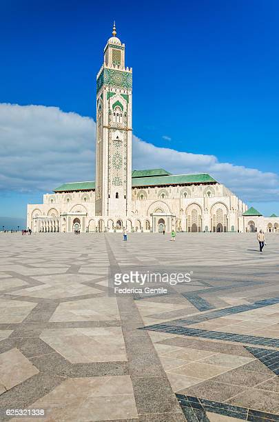 hassan ii mosque - casablanca morocco stock pictures, royalty-free photos & images