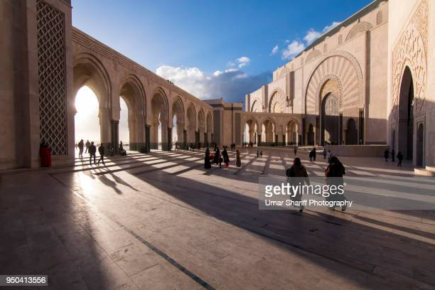 Hassan II Mosque the landmark in Casablanca