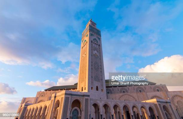 Hassan II Mosque the landmark in Casablanca