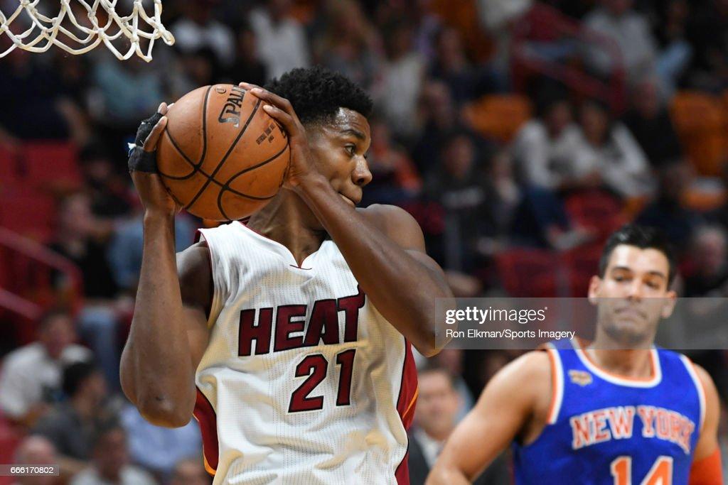 New York Knicks v Miami Heat : News Photo
