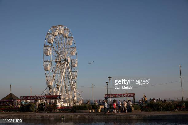 Hastings amusement park on the 20th April 2019 in Hastings in the United Kingdom Hastings is a town on Englands southeast coast it's known for the...