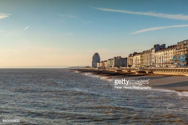 hastings city - hastings stock photos and pictures