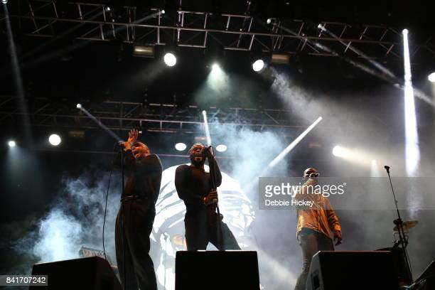 01 'G' Hastings Kayus Bankole and Alloysious Massaquoi of Young Fathers performs at Electric Picnic Festival at Stradbally Hall Estate on September 1...