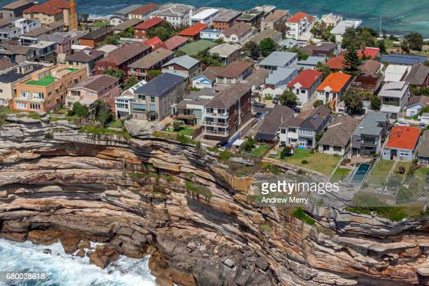 Hastings Parade, North Bondi Rocks, Sydney, Aerial Photography
