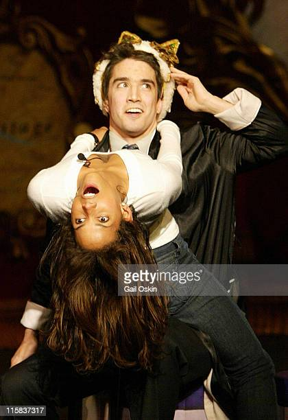 Hasty Pudding Theatricals' Woman of the Year Halle Berry is roasted by Harvard University student Sam Galen Rosen at Harvard University