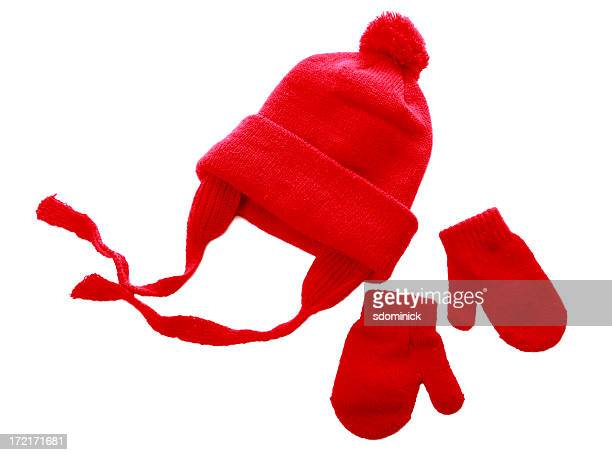 hat & mittens - mitten stock pictures, royalty-free photos & images