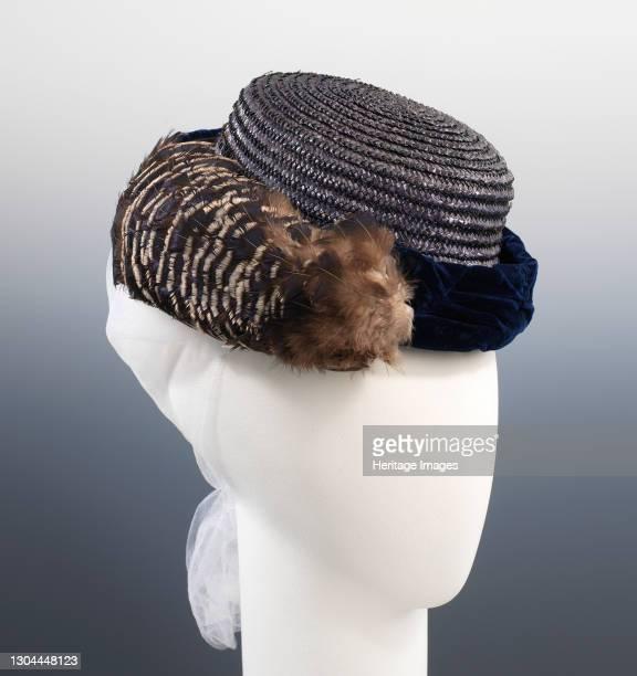 Hat, British, circa 1870. Artist William Charles Brown.
