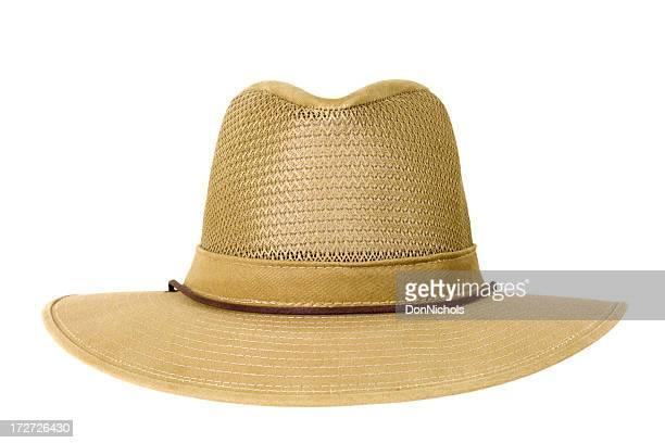Sombrero aislado con trazado de recorte
