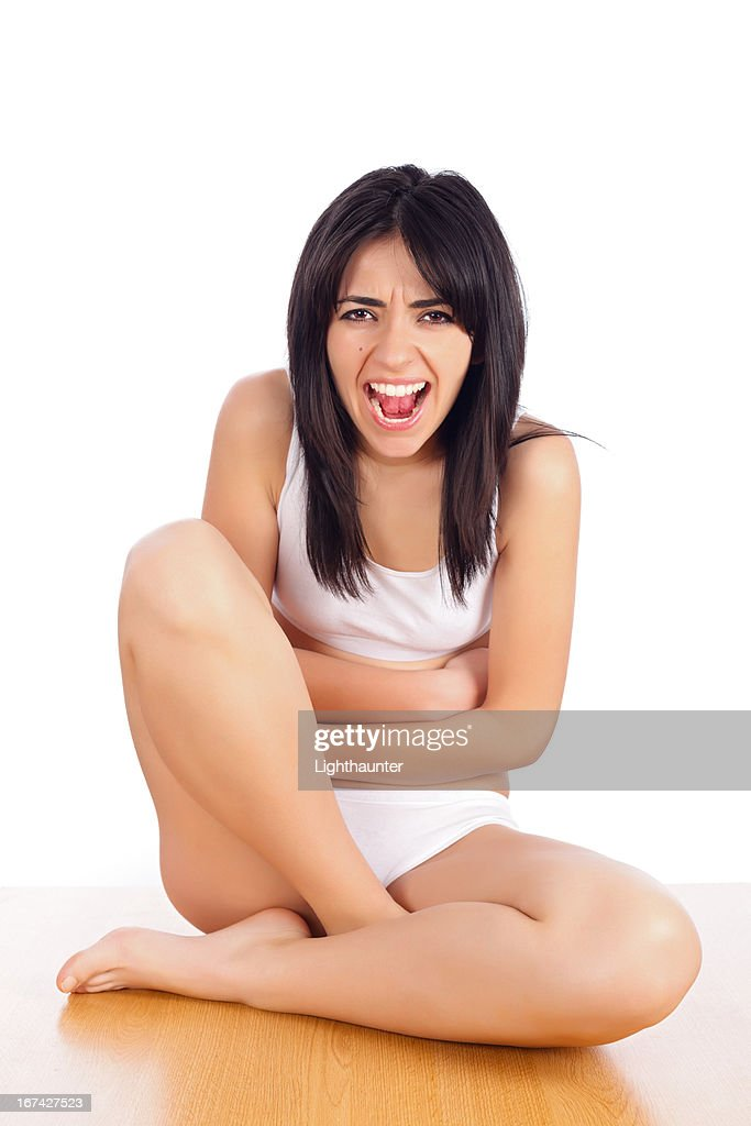 Hate Being on Period : Stock Photo