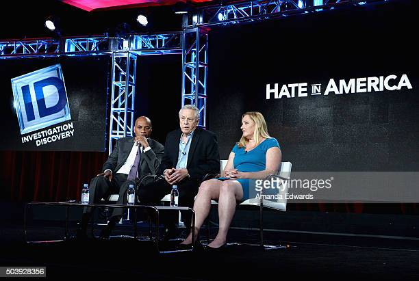 Hate In America Host Tony Harris Founder Southern Poverty Law Center Morris Dee and Intelligence Project Director Southern Poverty Law Center Heidi...
