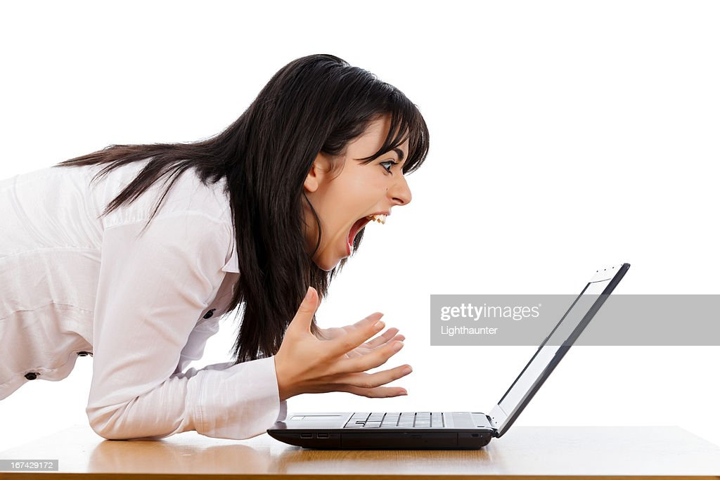 Hate Technology : Stock Photo