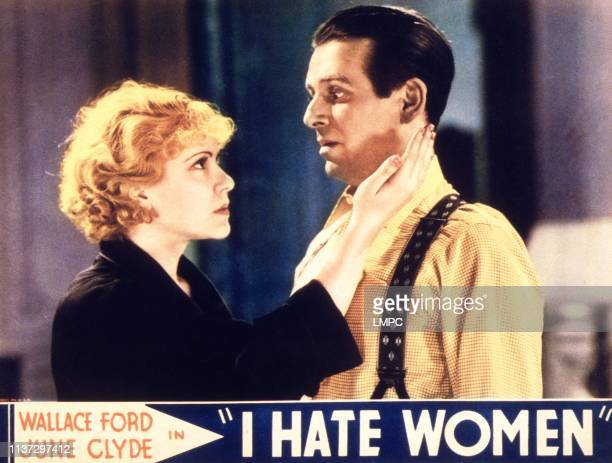 I Hate Women lobbycard lr June Clyde Wallace Ford on lobbycard 1934