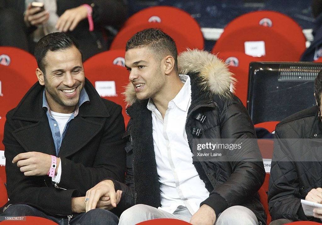 Hatem Ben Arfa attends the French Ligue 1 between Paris Saint-Germain FC and Ajaccio AC, at Parc des Princes on January 11, 2013 in Paris, France.