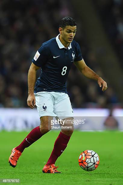 Hatem Ben Arfa of France in action during the International Friendly match between England and France at Wembley Stadium on November 17 2015 in...