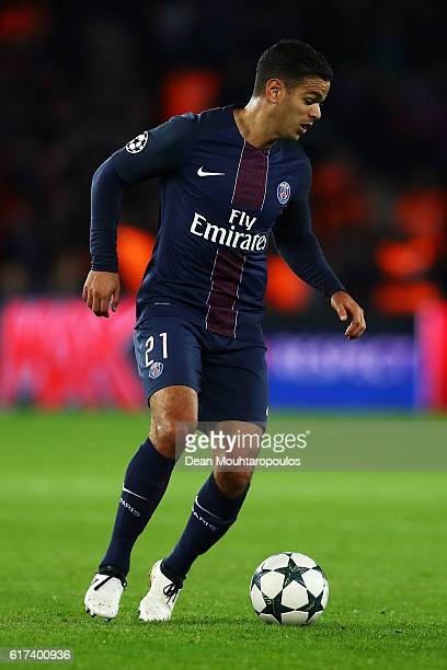 Hatem Ben Arfa of PSG in action during the Group A UEFA Champions League match between Paris SaintGermain Football Club and Fussball Club Basel 1893...