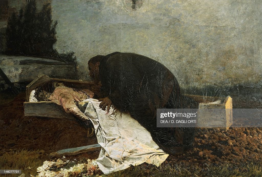 Hatred, by Pietro Pajetta (1845-1911). (Photo by DeAgostini/Getty Images) : News Photo
