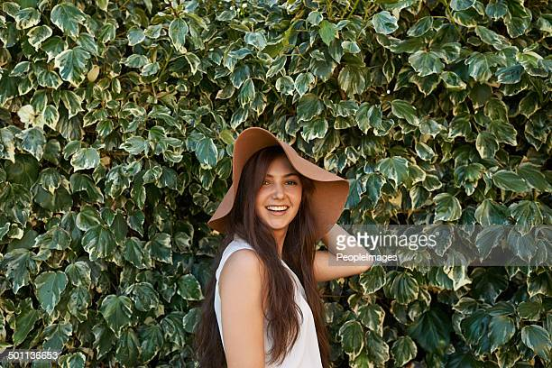 hats are part of my style - big white women stock photos and pictures