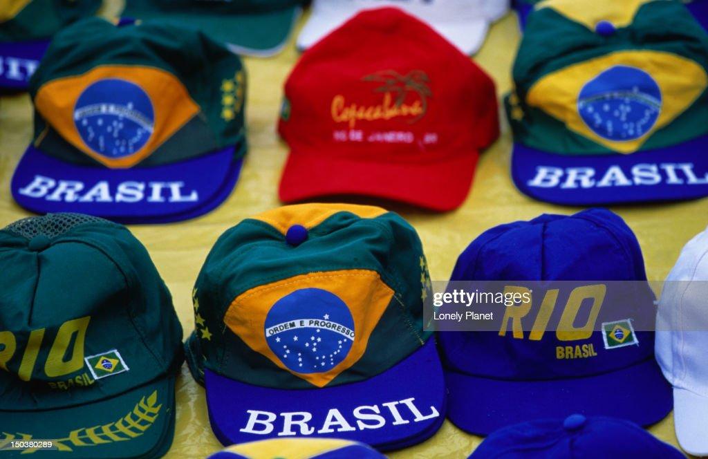 Hats For Sale Ipanema Stock Photo  e247789050a