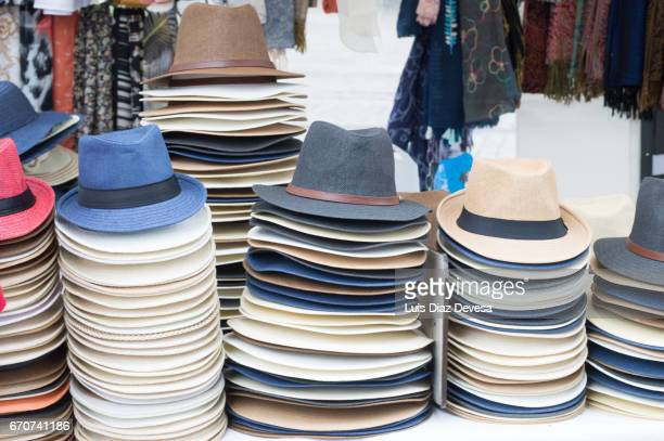 hats in various colours
