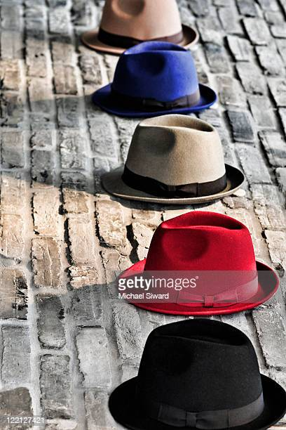 hats - michael siward stock pictures, royalty-free photos & images