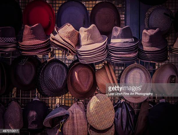 hats - lise ulrich stock pictures, royalty-free photos & images